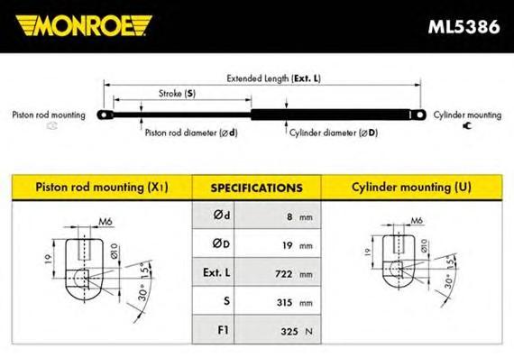 MONROE ML5386
