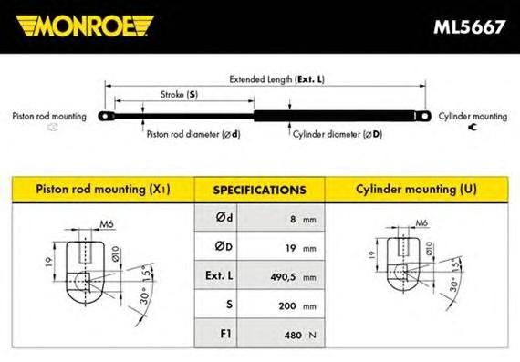 MONROE ML5667