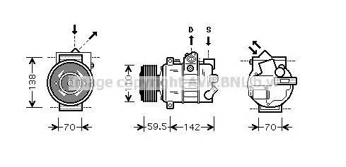 AVA QUALITY COOLING VWAK220