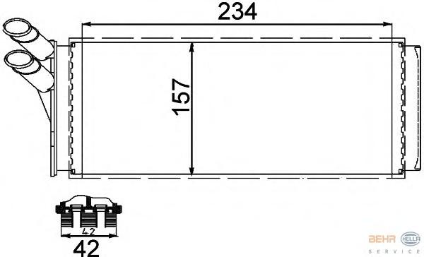 BEHR HELLA SERVICE 8FH 351 311-421