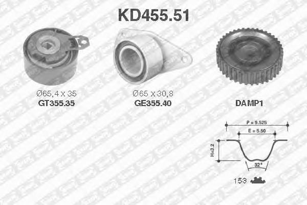 SNR KD455.51