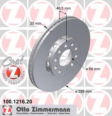 ZIMMERMANN 100.1216.20