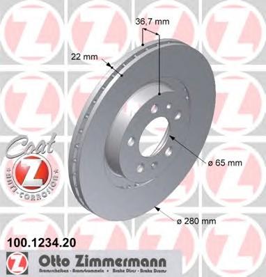 ZIMMERMANN 100.1234.20