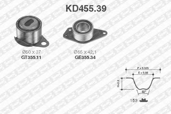 SNR KD455.39