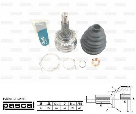 PASCAL G10352PC