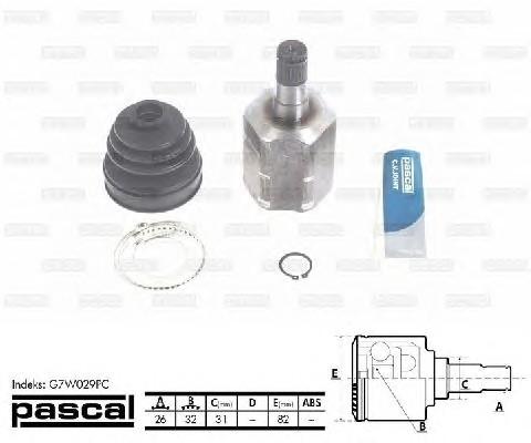 PASCAL G7W029PC