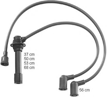 высоковольтные провода mazda 626 gd