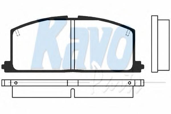 KAVO PARTS BP-9005