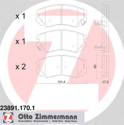 ZIMMERMANN 23891.170.1