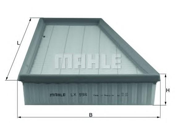 MAHLE ORIGINAL LX 998