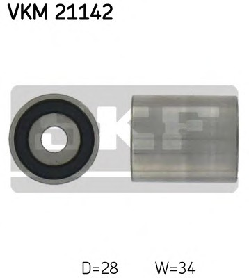 SKF VKM 21142