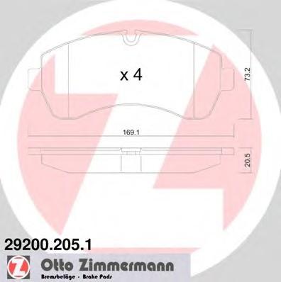 ZIMMERMANN 29200.205.1