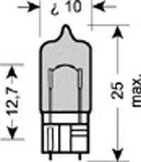 OSRAM 2825HCBI-02B