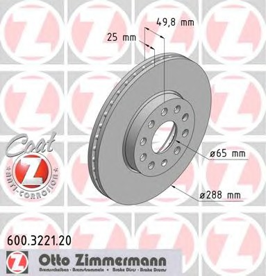 ZIMMERMANN 600.3221.20