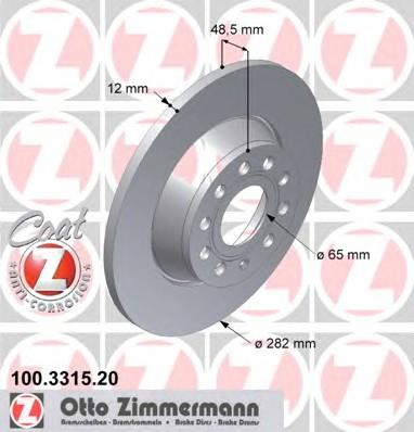 ZIMMERMANN 100.3315.20